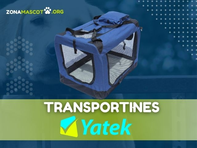 transportines para mascotas yatek