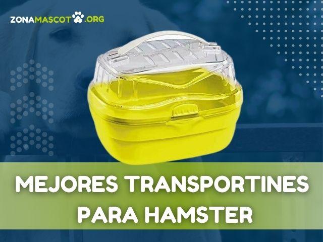 mejores trnasportines para hamster