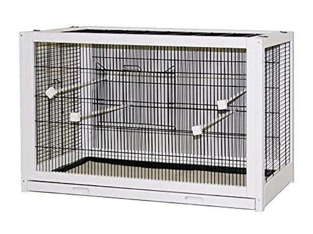 Kerbl 82911 Jaulas para pájaros hechas de madera