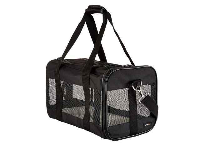 Transportín Perro Gato, Amazon Basics