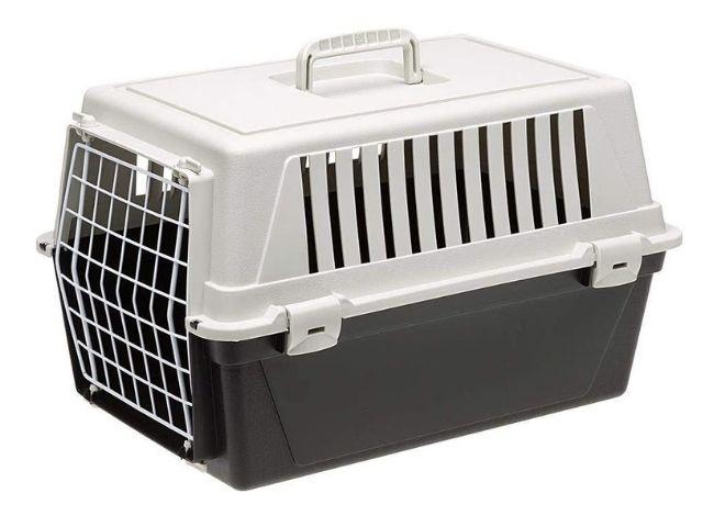 Ferplast Transportín rígido para Perros de Talla pequeña y Gatos Atlas 10 EL